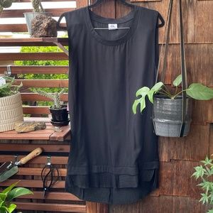 Black Chapter Tank Dress *NWT *Unique Details